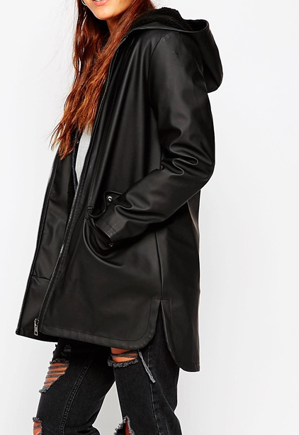 Asos long anorak