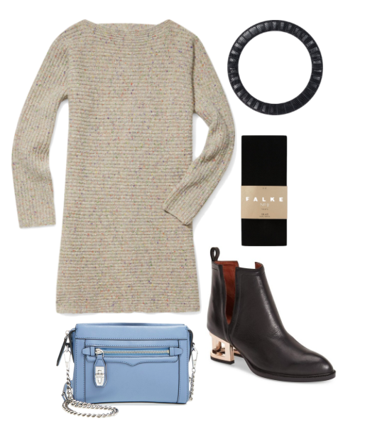 One Sweater Dress, 3 Ways | trufflesandtrends.com