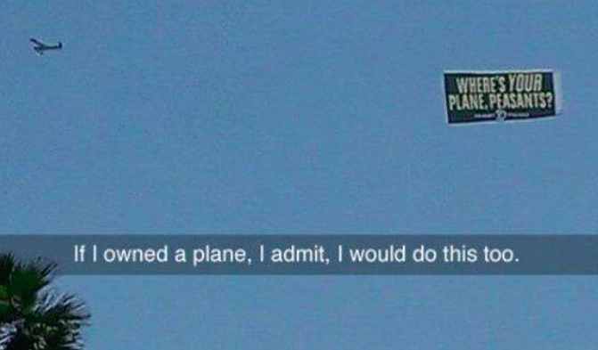 if i owned a plane