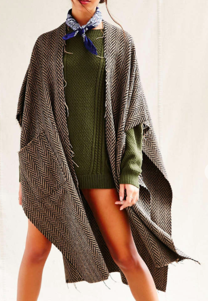 Urban Outfitters menswear cape