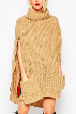 Asos knit poncho