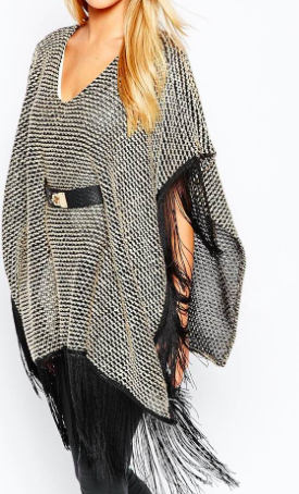 Lipsy belted cape