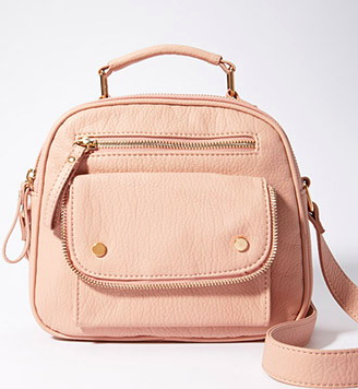 Forever 21 zippered small satchel