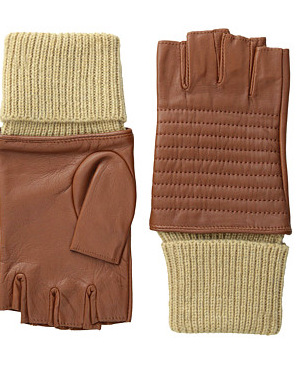 LAUREN by Ralph Lauren Channel Quilted Biker Glove