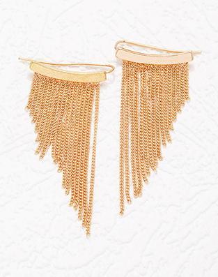 Forever 21 fringe earrings