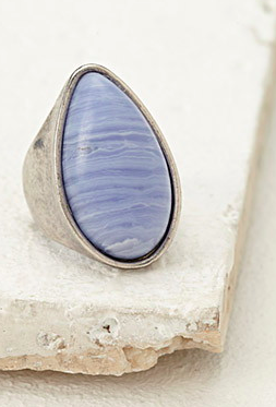 Forever 21 stone cocktail ring