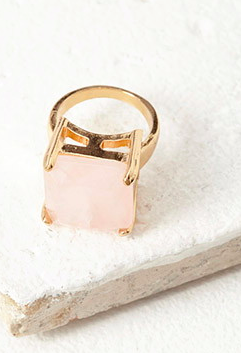 Forever 21 faux stone ring