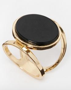 ASOS Flat Stone Open Shank Ring