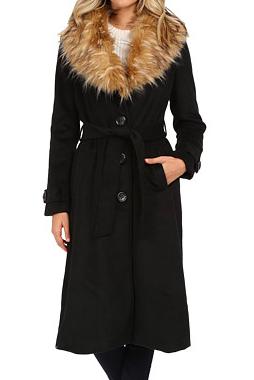 Steve Madden long wool coat