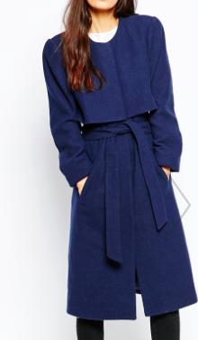 Vero Moda Belted Overlay Coat