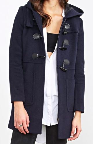 forever 21 duffle coat