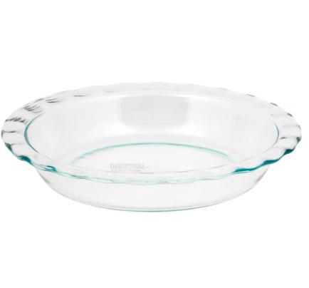 Pyrex Pie Plate   trufflesandtrends.com