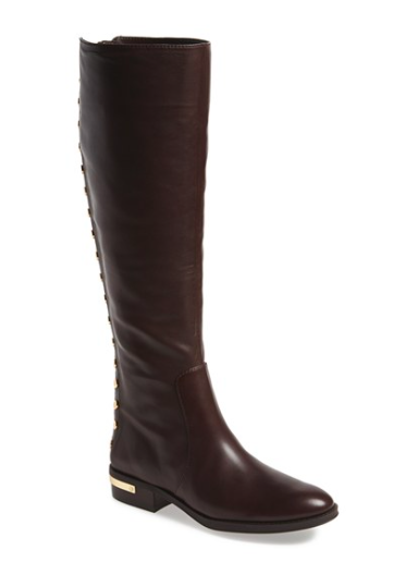 Vince Camuto studded riding boots