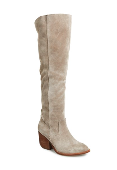 Jeffrey Campbell suede knee boots