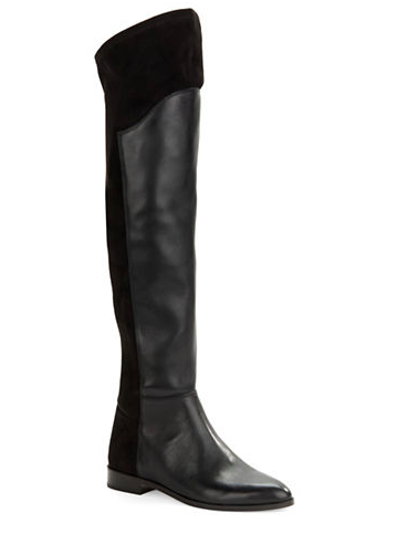 424 FIFTH Nalay Leather Over the Knee Boots