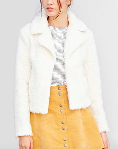 Forever 21 shearling jacket
