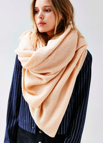 Urban Outfitters Femme Super Soft Square Scarf