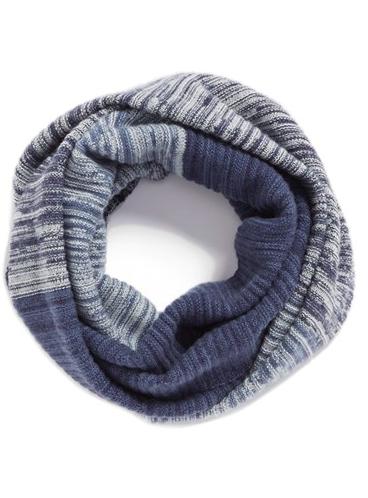 Halogen® Space Dye Wool & Cashmere Muffler