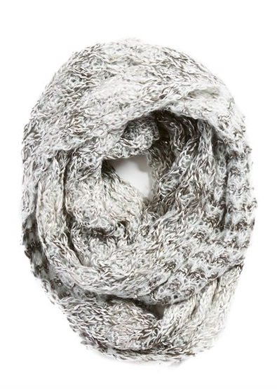 Collection XIIX 'Honeycomb Shine' Knit Infinity Scarf