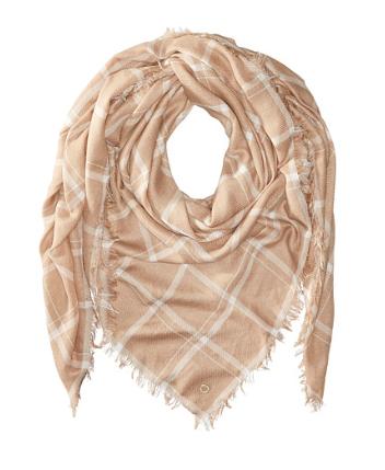 Calvin Klein grid scarf