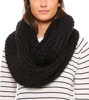 Bickley and Mitchell knit infinity scarf