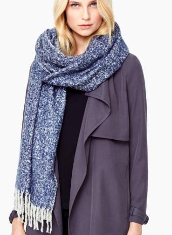 Mango flecked knit scarf