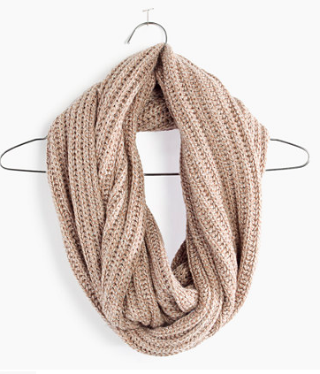 Madewell softest ribbed circle scarf
