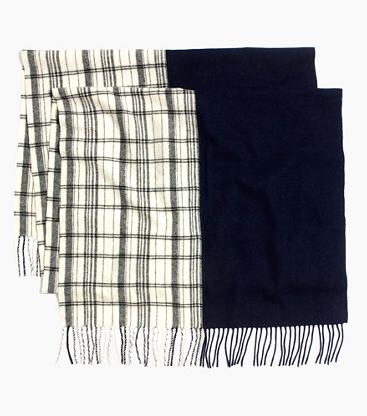 Madewell check scarf