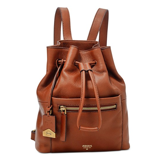 Fossil drawstring backpack