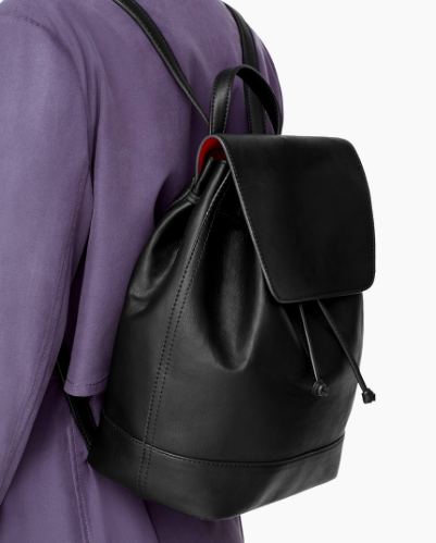 Mango black backpack