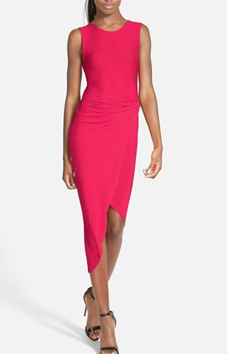 ASTR knotted sleeveless dress