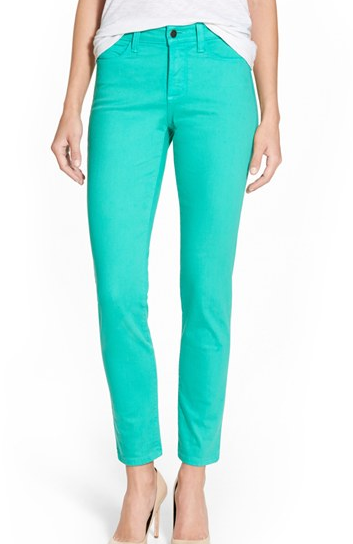 NYDJ 'Clarissa' Colored Stretch Ankle Skinny