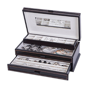 Mele & Co. Tory Wooden Jewelry box