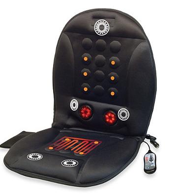 12-Volt Infra-Heat Massage Cushion