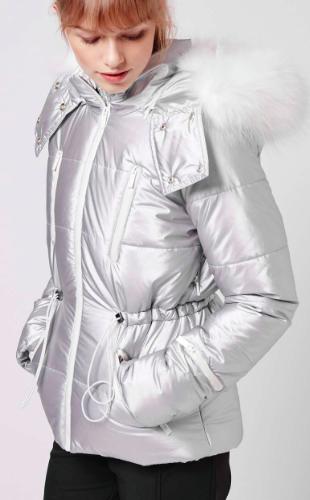 SNO Panelled Puffa Jacket Topshop