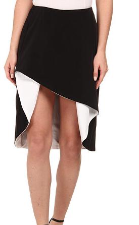 StyleStalker black and white Skirt