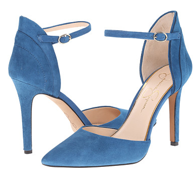 Jessica Simpson ankle strap pumps