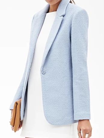 Forever 21 light blue blazer
