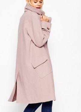 Asos oversized pastel coat