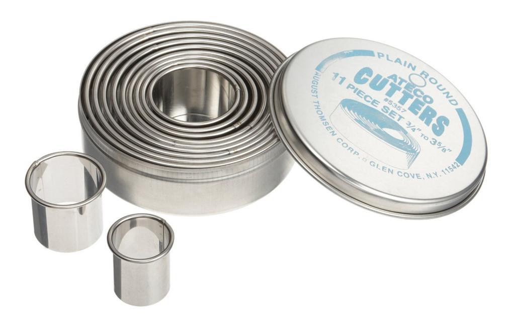 Round Cookie Cutters - Essential Baking Tools | TrufflesandTrends.com