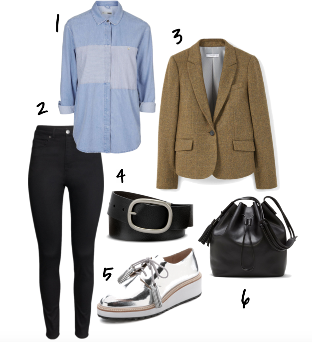 Menswear Inspired Outfits | TrufflesandTrends.com