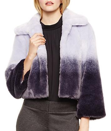 VINCE CAMUTO Ombre Faux Fur Jacket