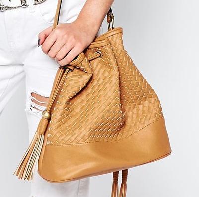 New Look Woven Duffle Bag