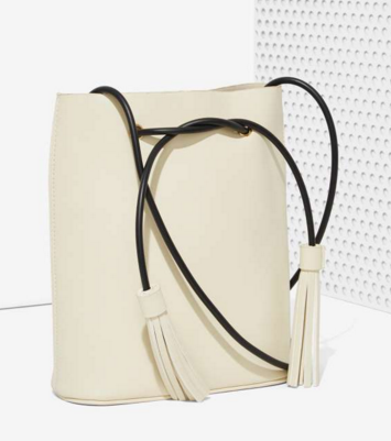 Paradigm Vegan Leather Bucket Bag