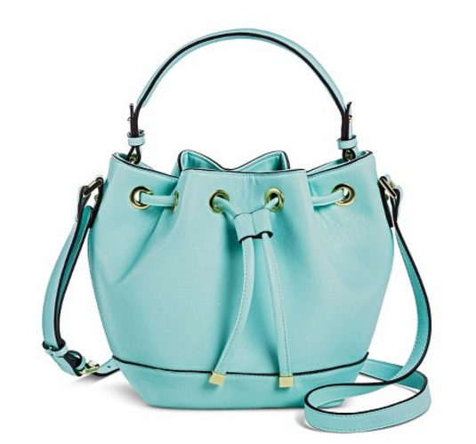 Women's Cinch Top Bucket Handbag with Multiple Straps - Merona