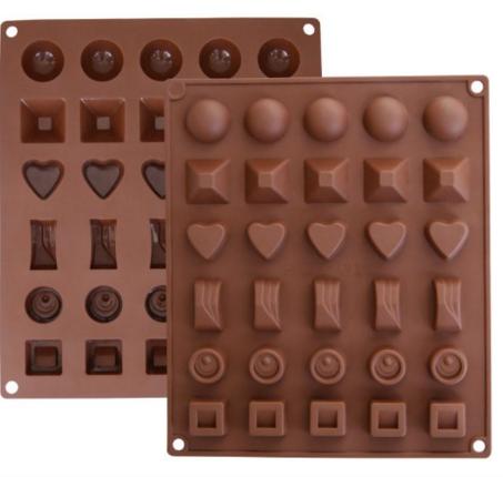 10 Bonus Baking Tools - chocolate molds | TrufflesandTrends.com