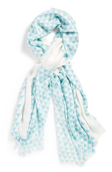 BP triangle print scarf