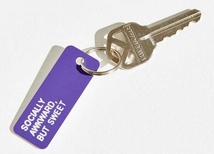 UO keychain tags