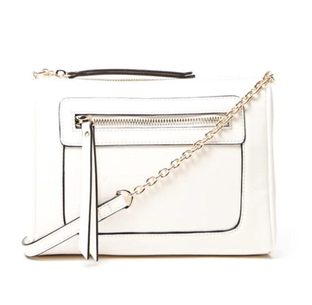 Forever 21 zipped Faux Leather Crossbody