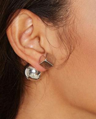 Nasty Gal jacket earrings